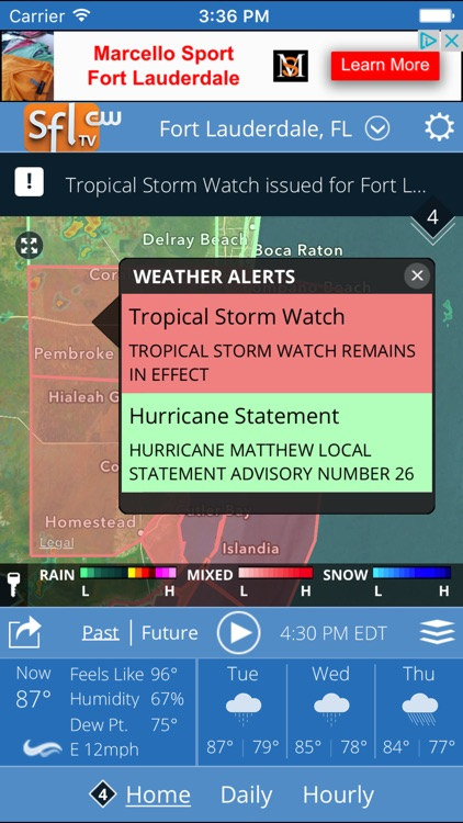 SFLCW Weather Funcast screenshot-0