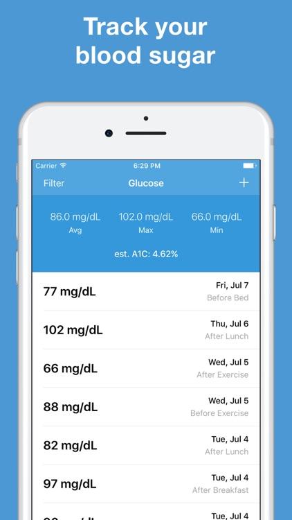 Glucose - Blood Sugar Tracker