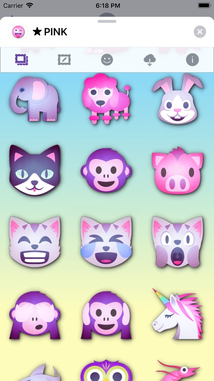 PINK Emoji • Stickers screenshot-9