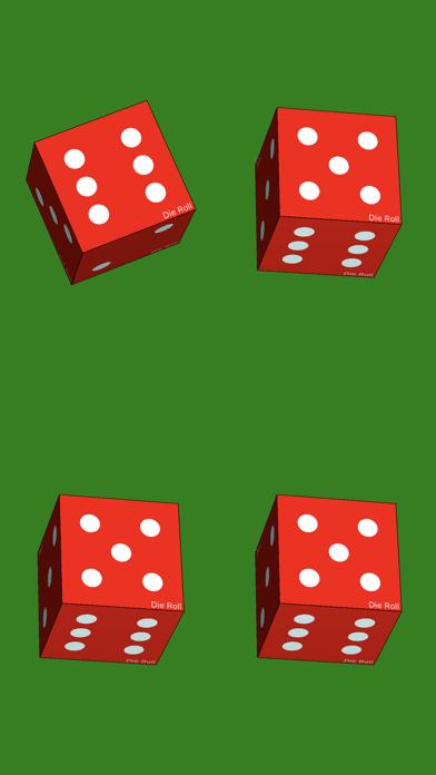 Die Roll - dice roller app screenshot four
