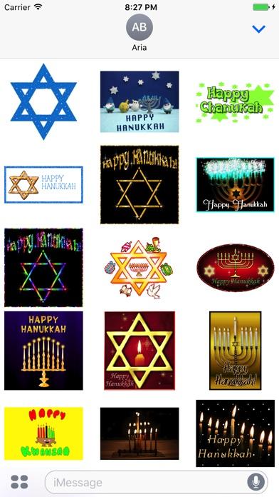 Animated Happy Hanukkah Gif screenshot 1