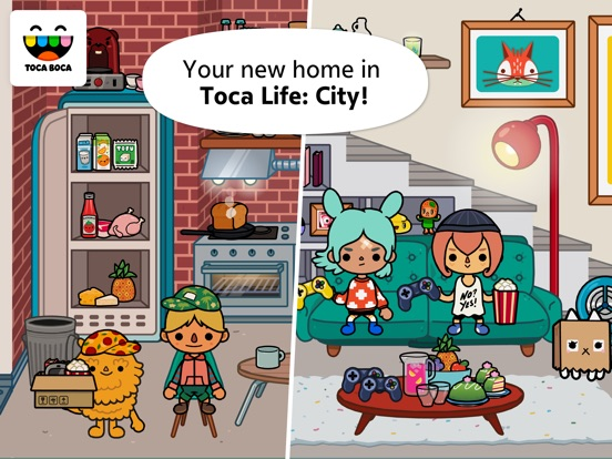 Toca Life: City Screenshots