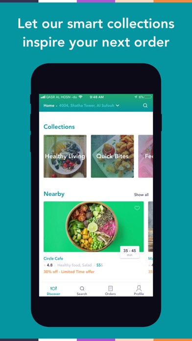 Screenshot for Careem NOW: Food Delivery in Lebanon App Store