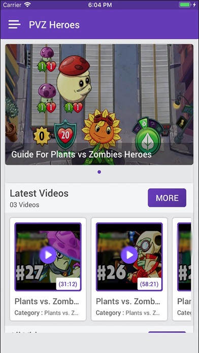 Guide for Plants Zombies Heroe app image
