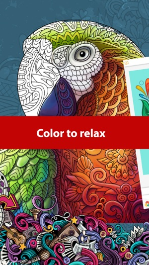 Doodle Color Coloring Book On The App Store
