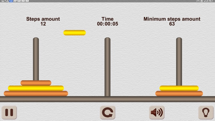 The Tower of Hanoi. (ad-free)