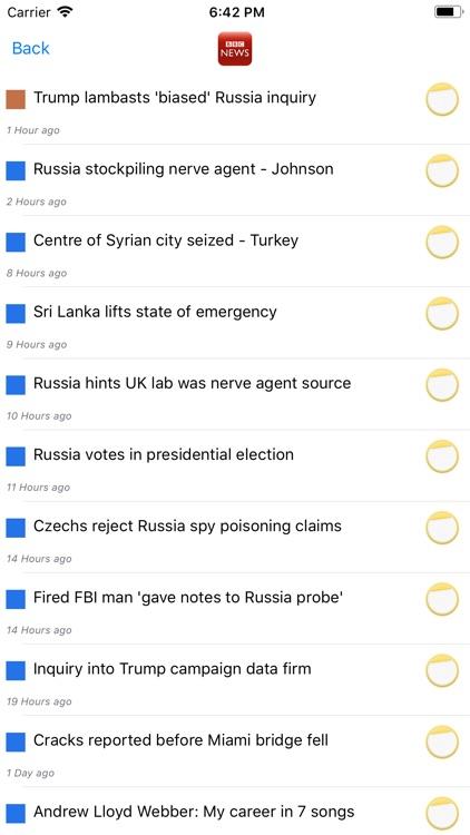News Mosaic screenshot-3