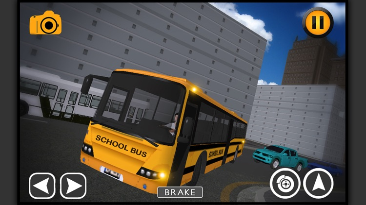 School Bus Driving sim-ulator screenshot-4