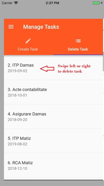 UITUK Task Reminder screenshot-3