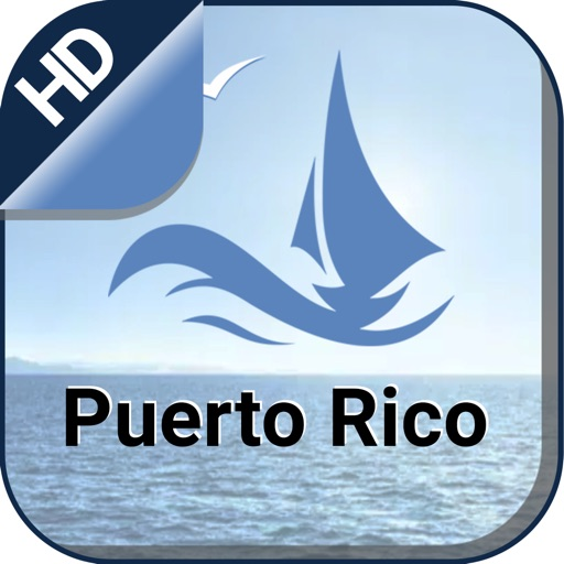 Puerto Rico GPS Nautical Chart
