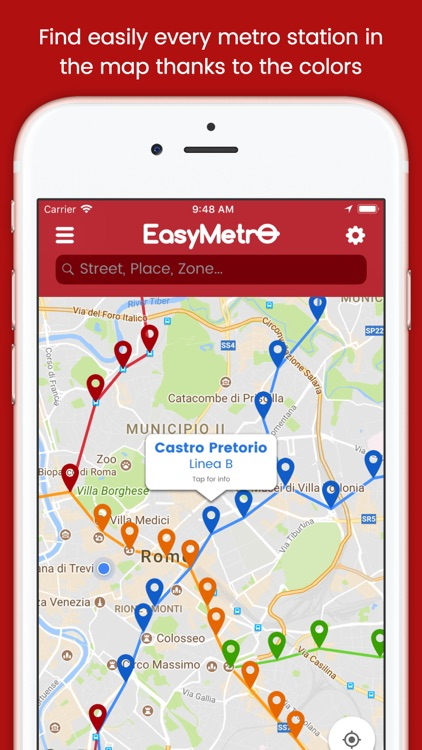 EasyMetro Italy screenshot-0