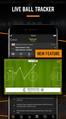 LiveScore: Live Sport Updates screenshot for iPhone