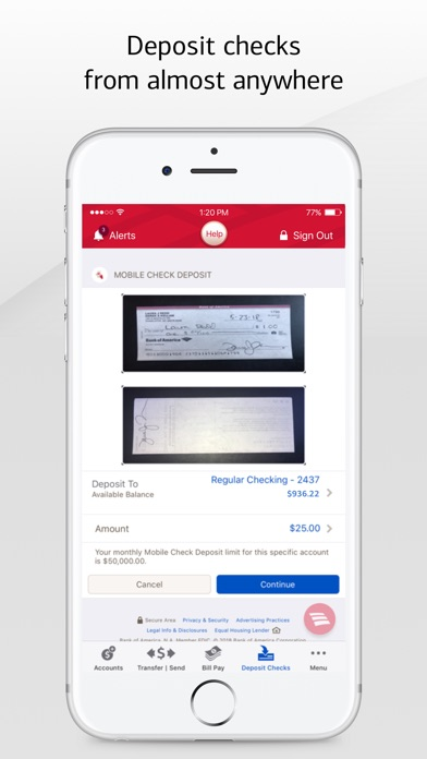 Bank of America Mobile Banking for Windows