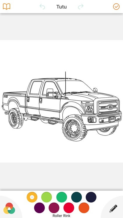 Cars Coloring Book Game - Enjoy And Color Your Day screenshot-3