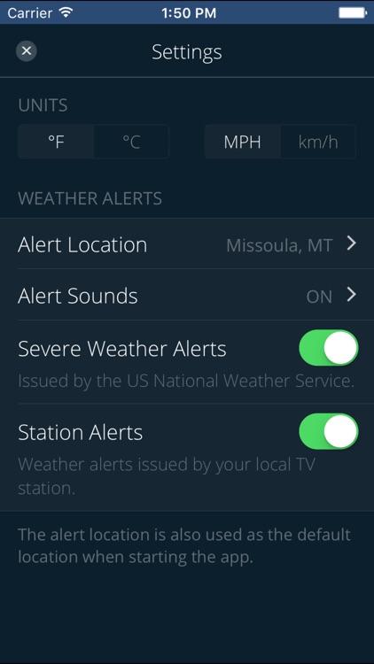 NBC MT Severe WX Alert Team screenshot-3