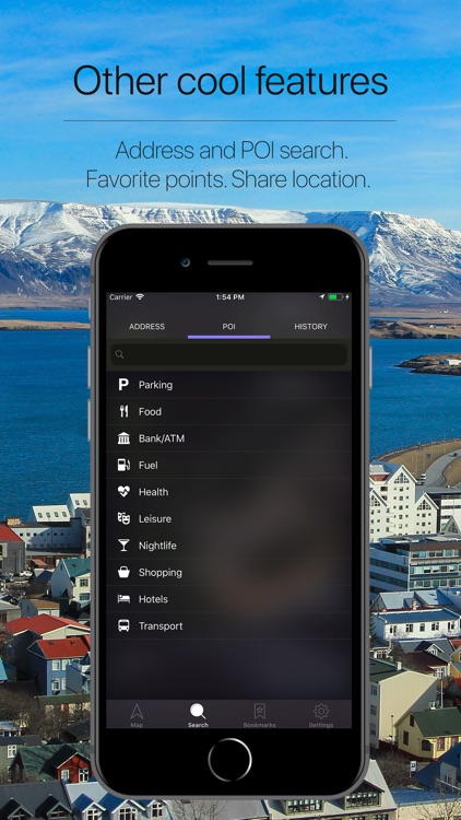 Iceland Offline Navigation screenshot-4