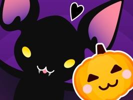 Moji Bat Scary Stickers