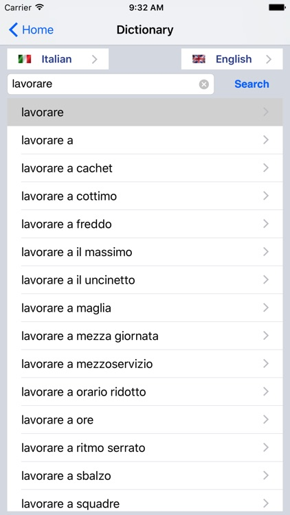 English/Italian Dictionary screenshot-3