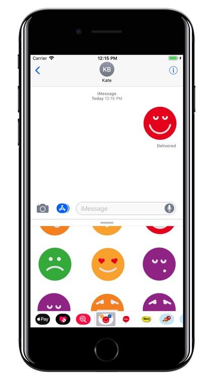 Emoji - Colorful smiley pack screenshot-4