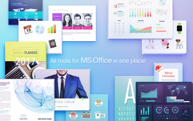 Toolbox for MS Office Screenshot