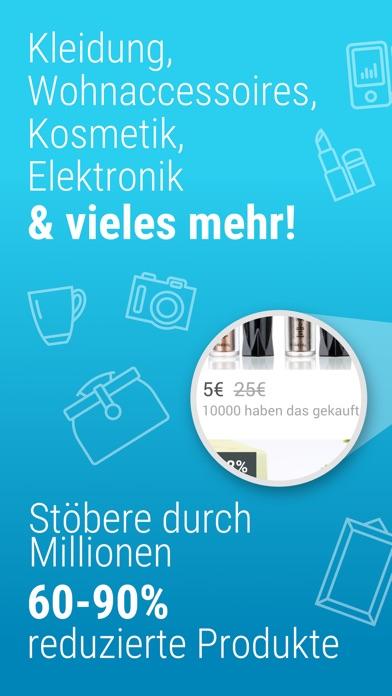 Screenshot for Wish - Smart Shoppen & Sparen in Germany App Store