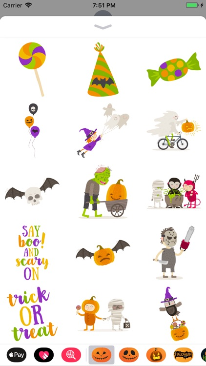 Happy Halloween Wicked Sticker