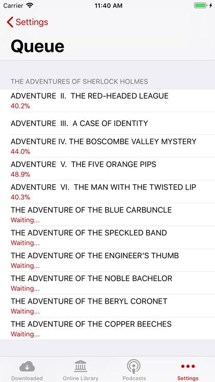Audio Books #1 screenshot-5