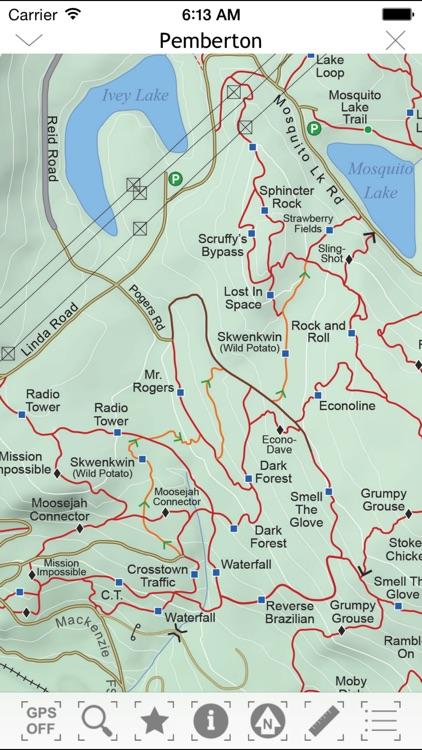 Pemberton MTB Trail Guide screenshot-5