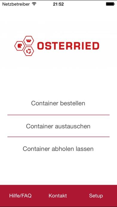 Osterried Container AppScreenshot von 1