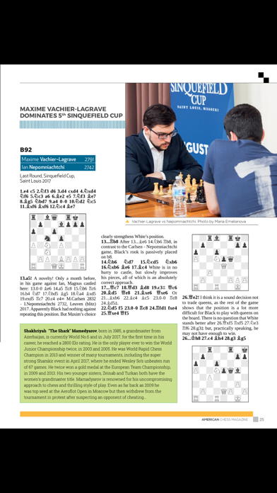 American Chess Magazine screenshot 5