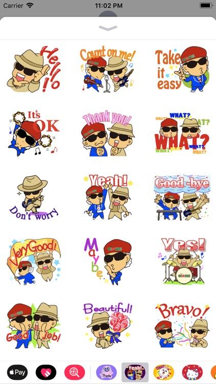 Cuca & Buka Emoji Stickers App
