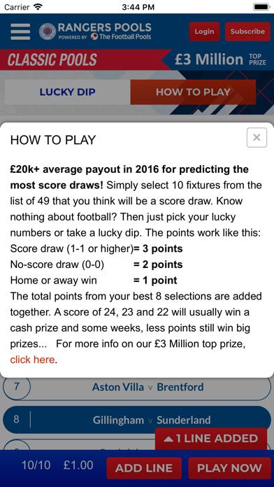 Rangers Pools screenshot four