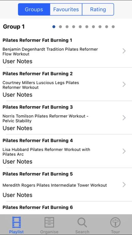 Pilates Reformer Fat Burning