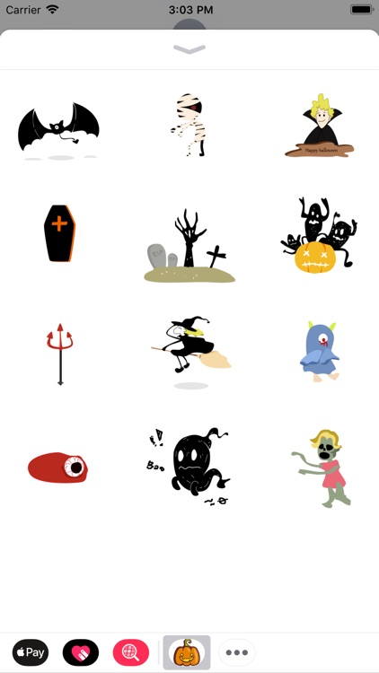 Halloween Stickers:Nightmare