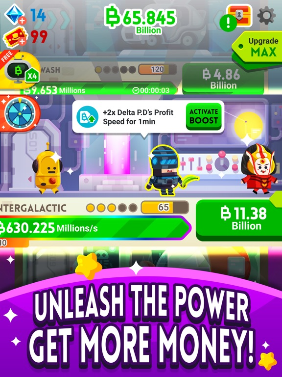 Screenshot #3 for Cash, Inc. Fame & Fortune Game