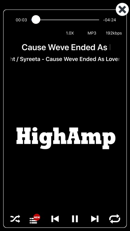 HighAmp : MP3 Music Player screenshot-3