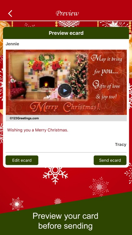 Christmas Wishes and Cards screenshot-4