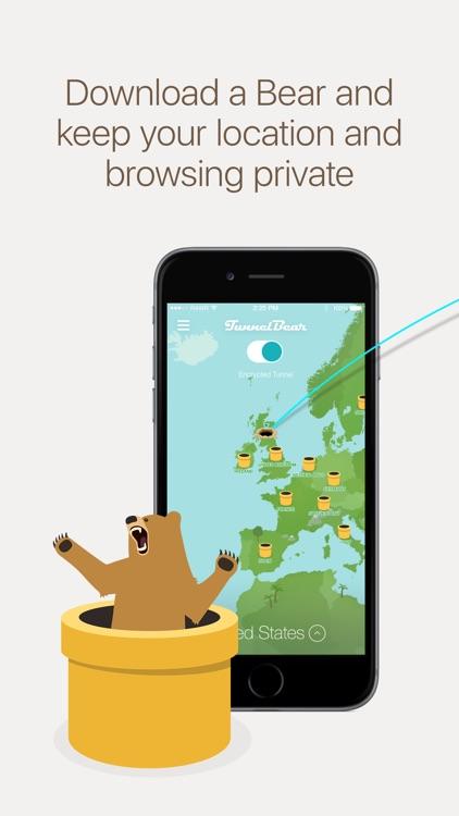 TunnelBear VPN screenshot-0