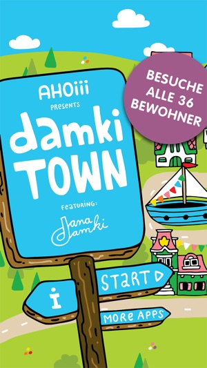 Damki Town – Kinder Malbuch Screenshot
