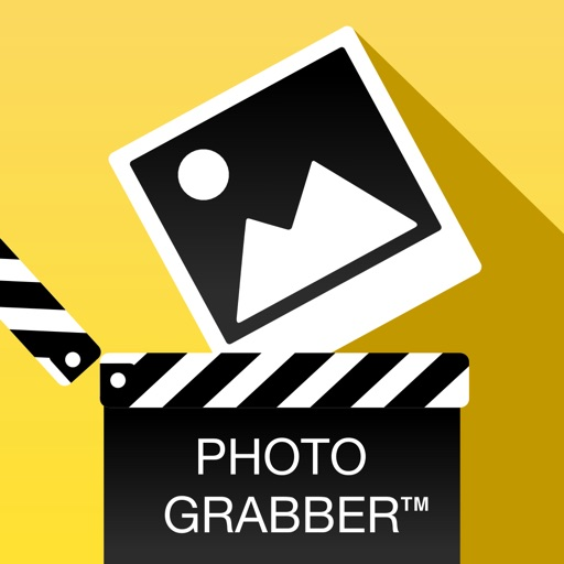 Photo Grabber Free - Grab Perfect Photo Picture Image and Fotos from Video Clip or Movie Film and Square Fit Scale Rotate Fill Background Colors and Add Text or Caption on Photo for Instagram