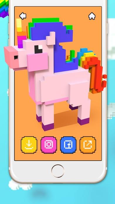 Voxel - 3D Color by Number screenshot 2