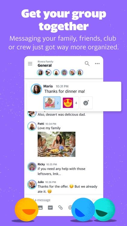Yahoo Together - Group Chat screenshot-0