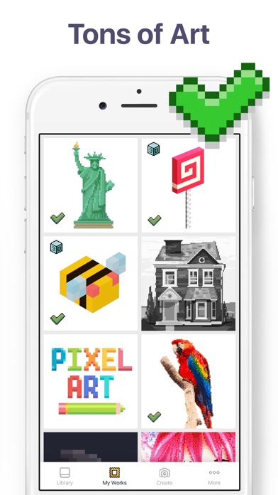 Pixel Art Colour By Numbers苹果商店应用信息下载量评论