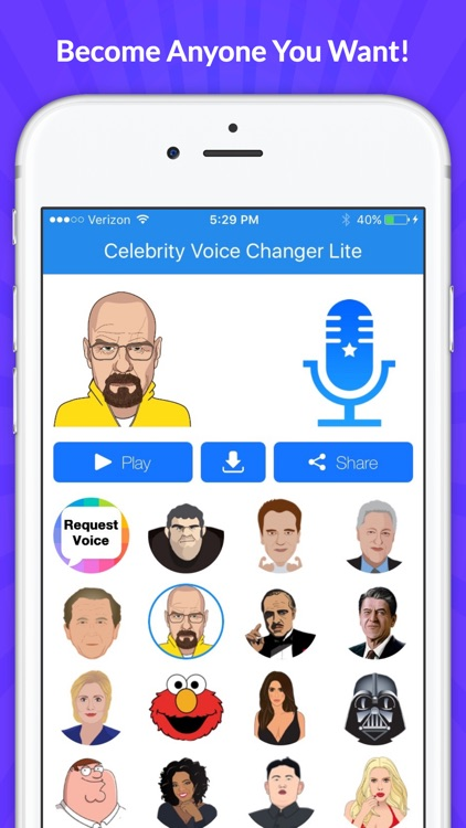 Voice Changer -Celebrity Emoji