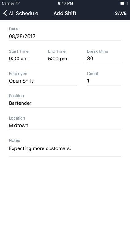 Staffvelox Employee Scheduling screenshot-4