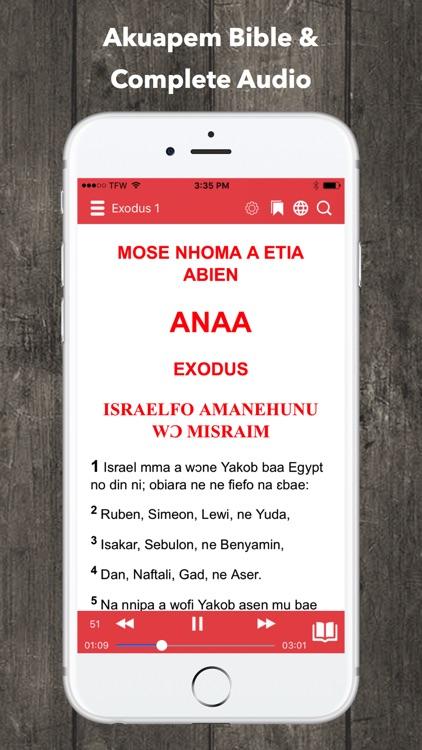 Twi Bible Akuapem Bible screenshot-0