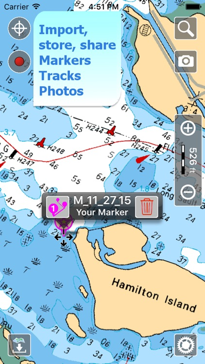 Aqua Map Canada - Nautical GPS screenshot-3
