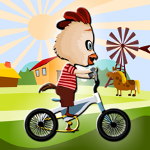 Farm Chicken Biker