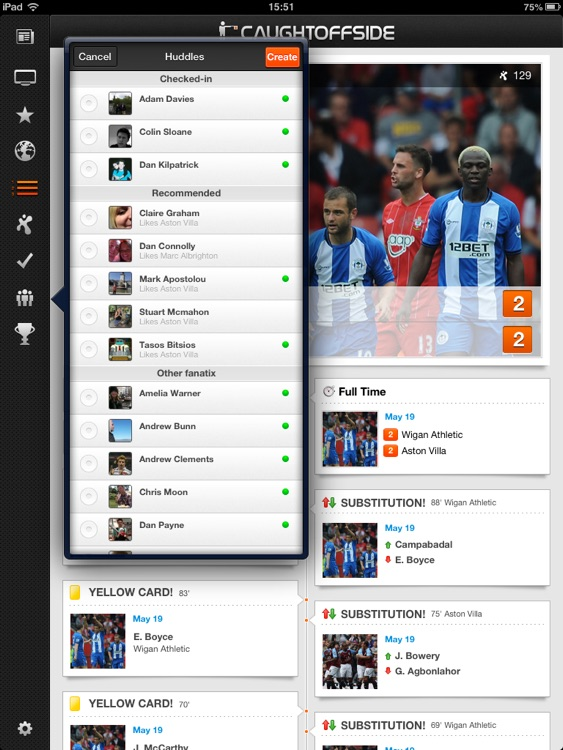 Caught Offside for iPad screenshot-4