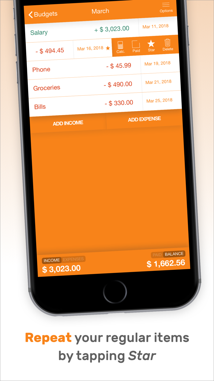 Fudget: Budget Planner Tracker Screenshot